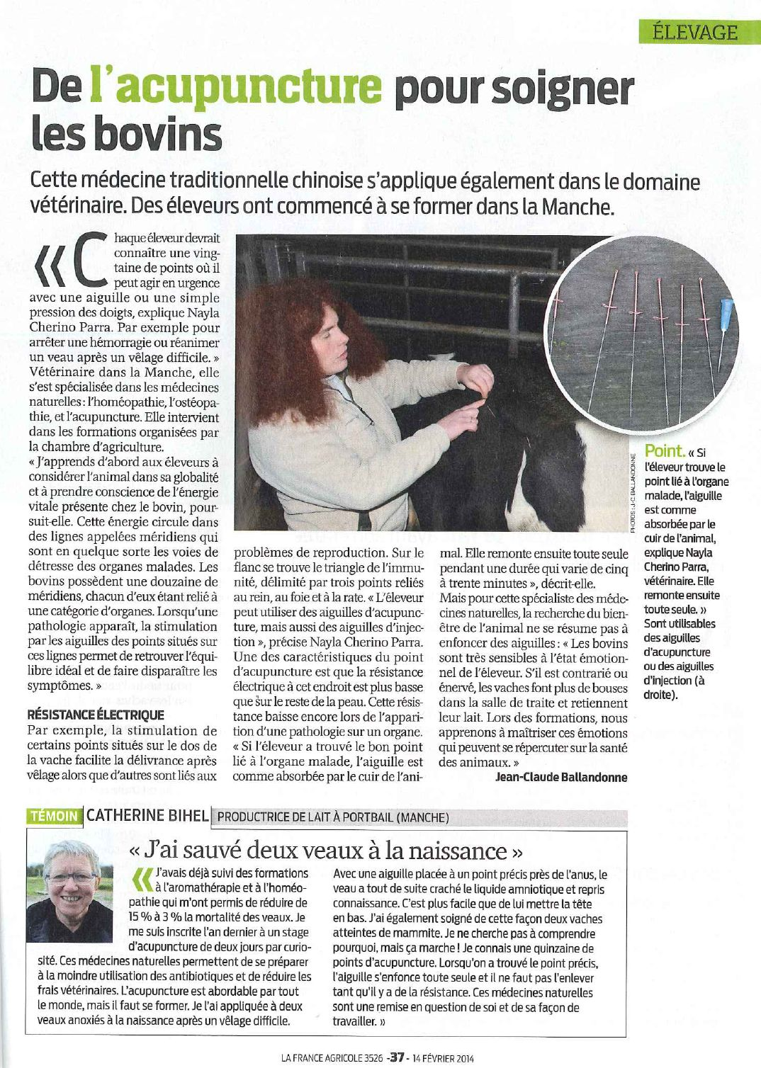 article accu france agricole